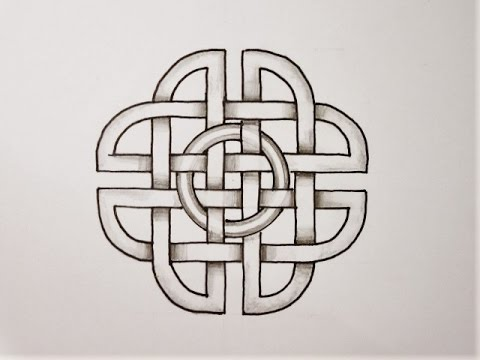 keltischer knoten 56 bandverl ufe design 8 youtube. Black Bedroom Furniture Sets. Home Design Ideas