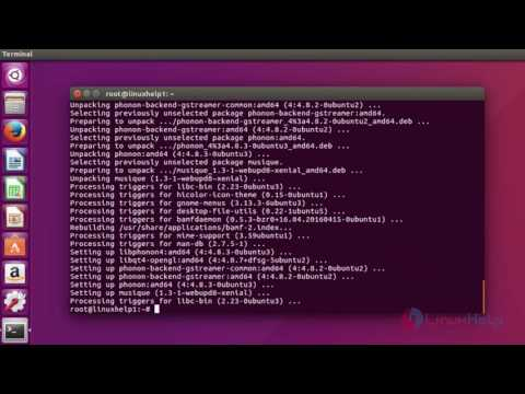 How to install Musique Audio Player on Ubuntu 16.04