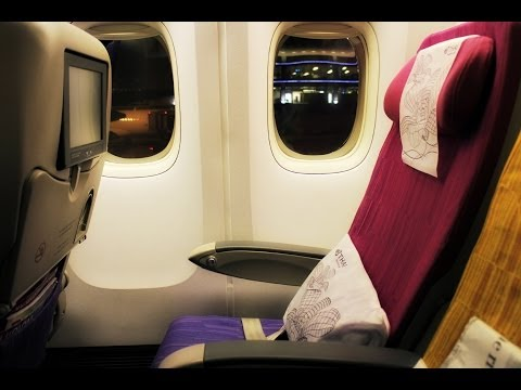 Thai Airways Flight Experience: TG401 Bangkok to Singapore