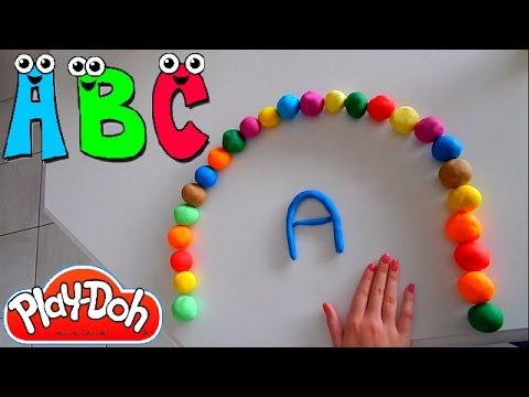 abc play doh alphabet playdough for children youtube. Black Bedroom Furniture Sets. Home Design Ideas