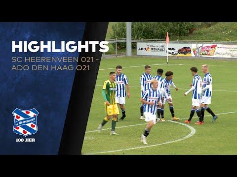 Highlights sc Heerenveen O21 - ADO Den Haag O21