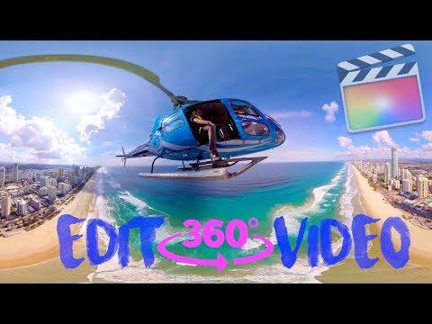 Edit 360 Video in Final Cut Pro - FCPX Tutorial