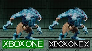Killer Instinct | Xbox One X vs Xbox One | 4K Graphics Comparison | Comparativa