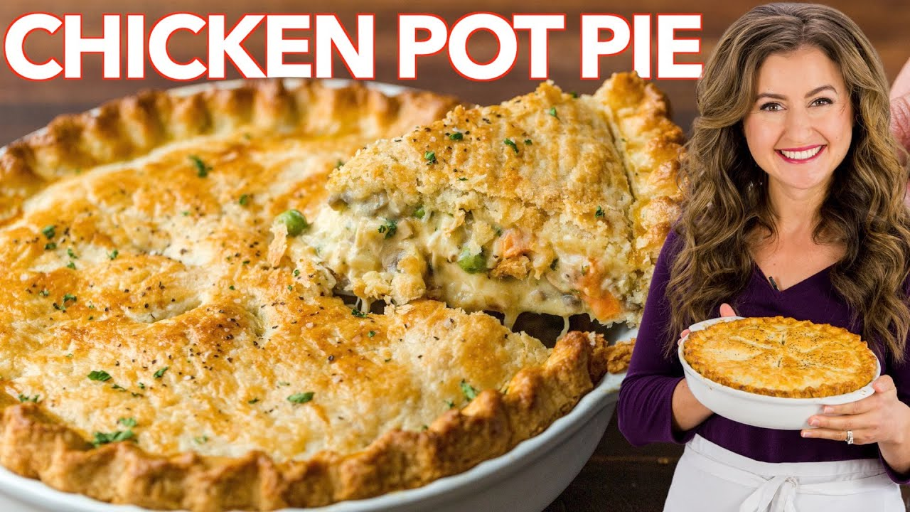 The Best Homemade Chicken Pot Pie Recipe I Ever Made Youtube