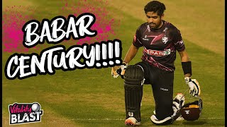 🎥 Babar Azam scores stunning 114* from 62 balls for Somerset!