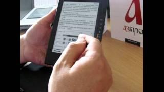 Відеоогляд та інструкція електронної книги Азбука n618