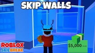 SKIP WALLS IN JEWELRY STORE - Roblox Jailbreak