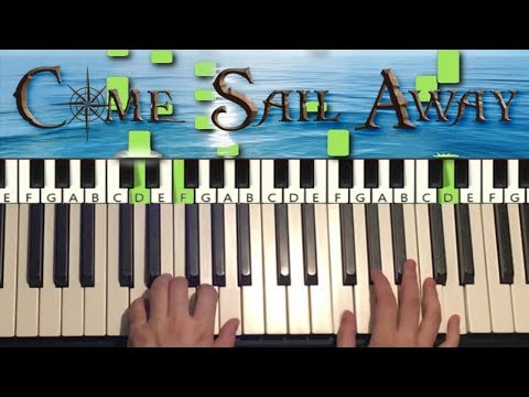 Styx - Come Sail Away (Piano Tutorial Lesson)
