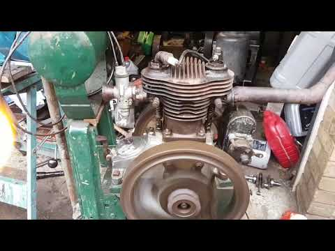 Veteran Auto-Carriers Sociable Car Engine