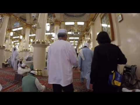 Al-Masjid an-Nabawi And The Prophet Muhammad's final resting place.