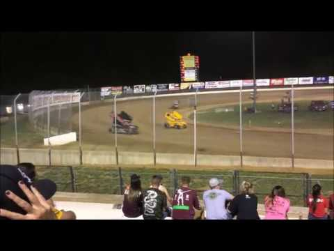 Lake Ozark Speedway 360 Winged Sprint Feature 5-12-18