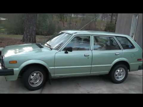 Attractive 1981 Honda Civic Wagon 5spd EM 1 1.5L Walkaround