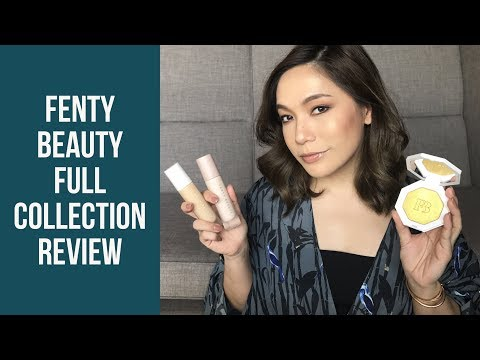 DAILYCHERIE : Fenty Beauty Full Collection Review