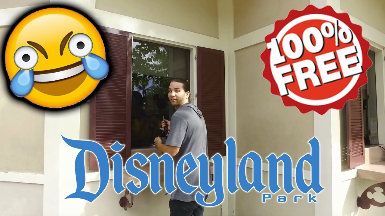 Get Into Disneyland For FREE