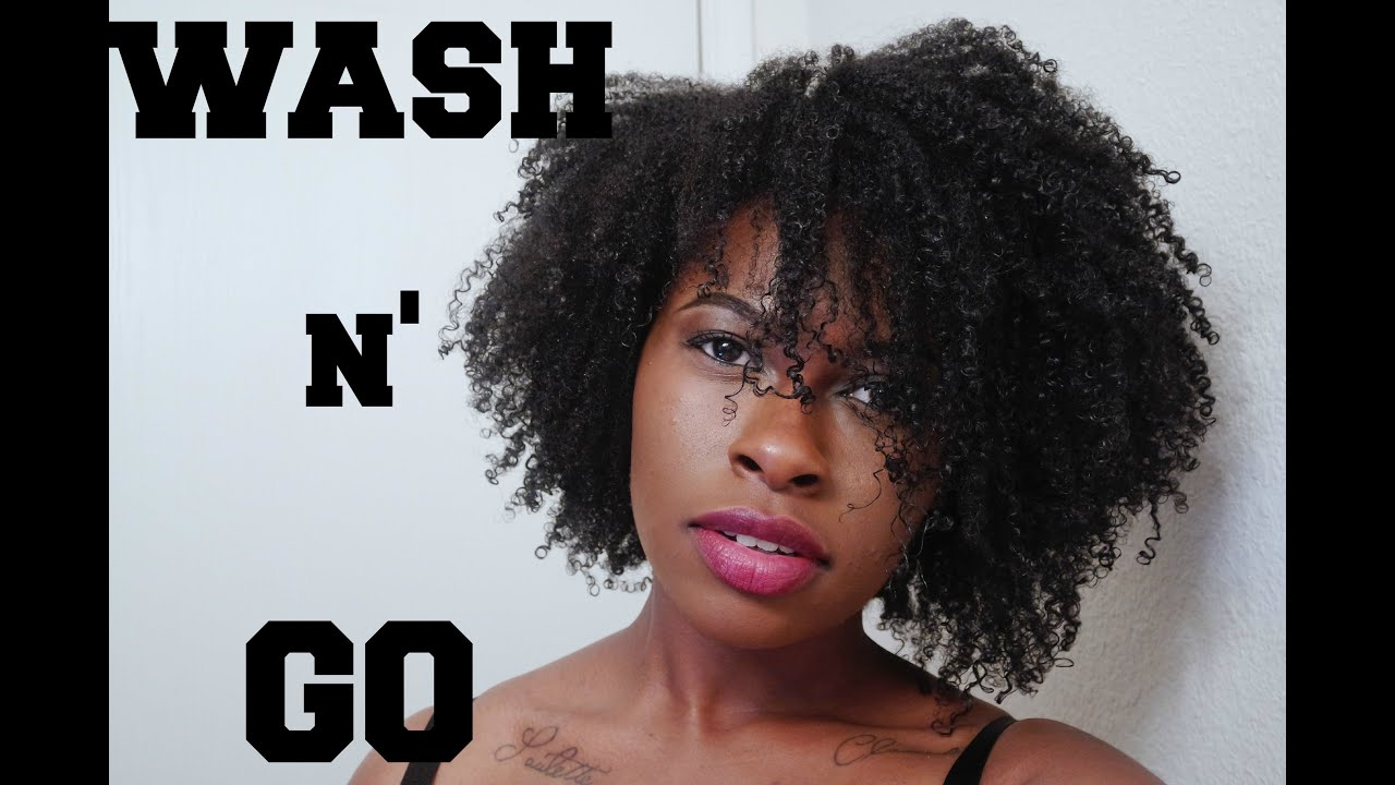 4 C Hairstyles: Perfect Summer Wash & Go (on 4b, 4c Hair