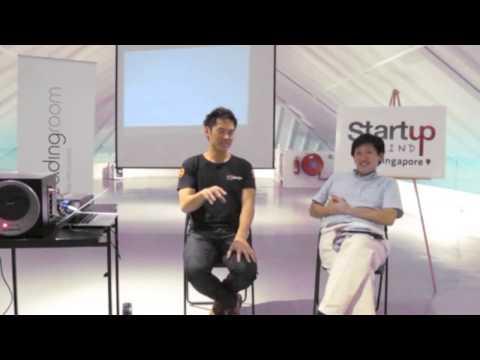 Jason Sew Hoy (99Designs) at Startup Grind Singapore