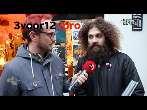 The Gaslamp Killer goes record shopping at Rush Hour @ ADE'15