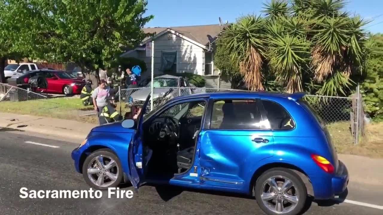 Car Accident South Sacramento Today