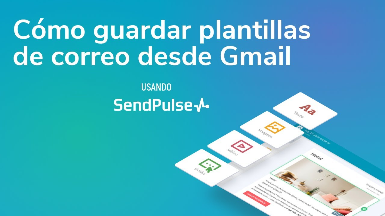 Email marketing | Cómo guardar plantillas de correo desde Gmail usando la extensión de SendPulse