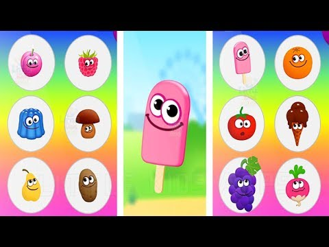 Funny Food 3 - Kids Learn Math and Numbers - Fun Educational Game for Toddlers