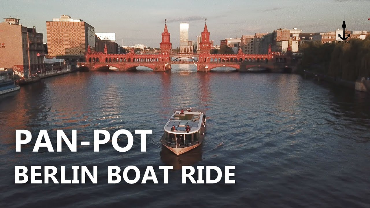 Pan-Pot Berlin Boat Ride
