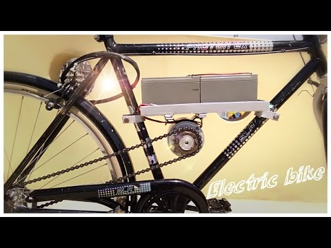how to make simple electric bike