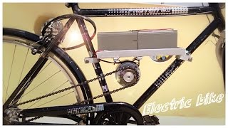 how to make simple electric bike|| Creative Science thumbnail