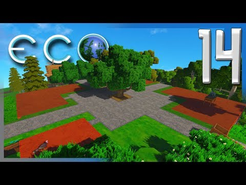 STARTING THE TOWN SQUARE! | Eco Global Survival Let's Play/G