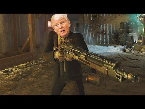 DONALD TRUMP IN CALL OF DUTY BLACK OPS 3 ZOMBIES!