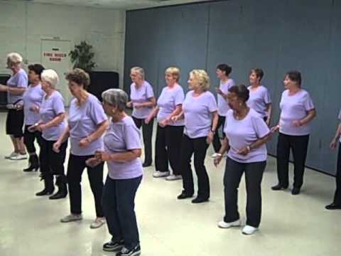 Cruisin' Line Dance, performed by Peoria community Center, A Class Act