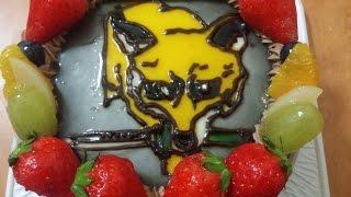 5月10日の誕生日。 シロシロさんがフォックスハウンドケーキを仕入れ...