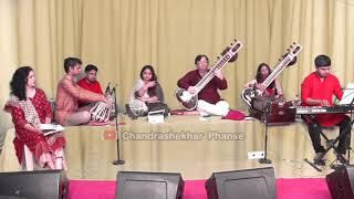 Chain se humko Kabhi by Chandrashekhar Phanse on the sitar