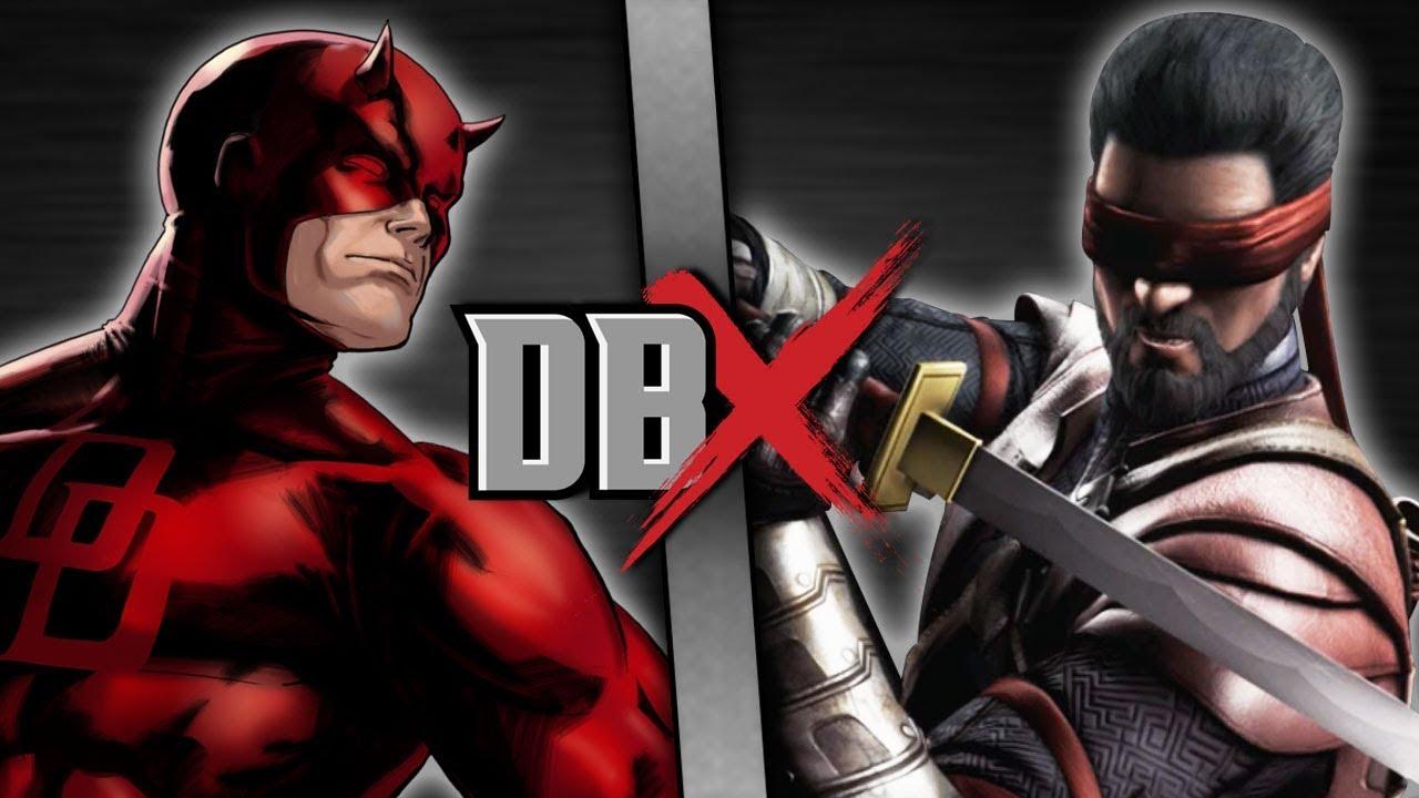 Kenshi vs  Daredevil in ScrewAttack's Latest DBX | Test Your Might