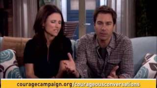 Courageous Conversations, Part Two: Julia Louis-Dreyfus and Eric McCormack