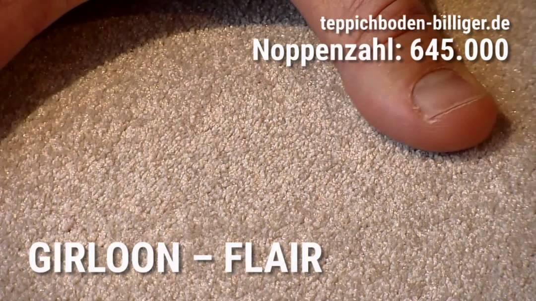 """Billiger teppichboden  Der Wohlfühl-Teppichboden """"Girloon Flair"""" - YouTube"""