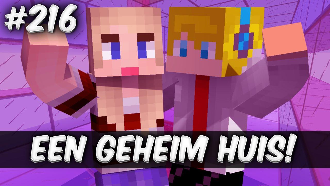 Minecraft Survival EEN GEHEIM HUIS YouTube - Minecraft geheime hauser