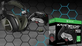Astro A40 Tr   Unboxing & Review (xbox One(s)   Mix Amp M80)