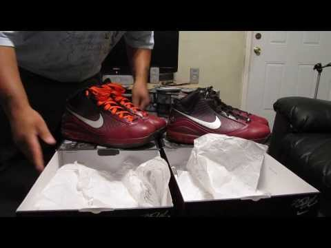 (SOLD, SOLD, SOLD) LEBRON 7 CHRISTMAS EDITION SIZE 13 (NEW and USED) VID 41