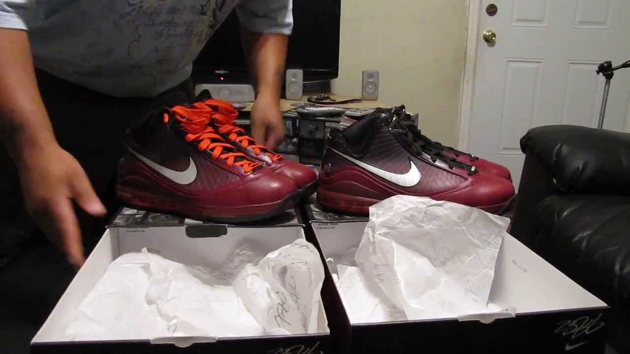 SOLD, SOLD, SOLD) LEBRON 7 CHRISTMAS EDITION SIZE 13 (NEW and USED ...