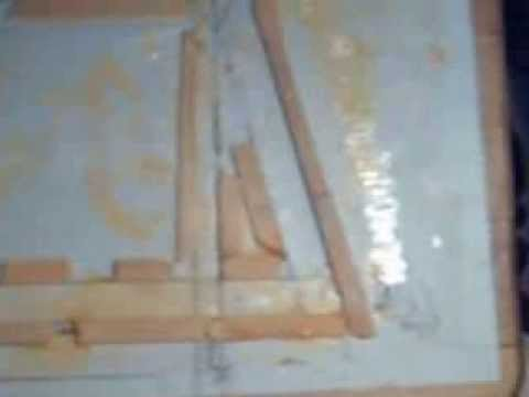 Video of the mold for building Gable rafters