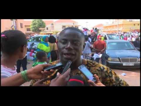 Reportagem da Televisão da Guiné-Bissau (TGB) sobre o DLA na Guiné-Bissau 2018