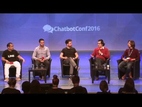 ChatbotConf 2016 Panel Discussion: Chatbots, the Promise of Smart Conversations #CBC16