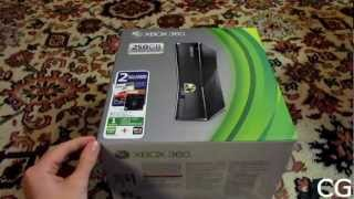 Обзор консолей: Xbox 360 Slim 250 GB [RUS] [HD]