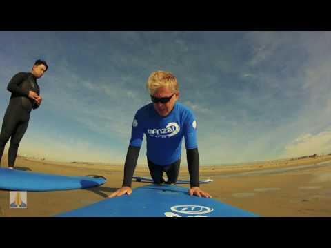 First Surf Lesson! | Banzai Surf School | Huntington Beach | 🙏 God Quotes