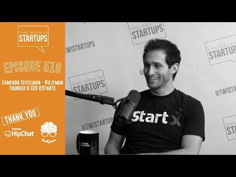 Cameron Teitelman, Start X Founder, breaks the mold by building a powerhouse nonprofit accelerator