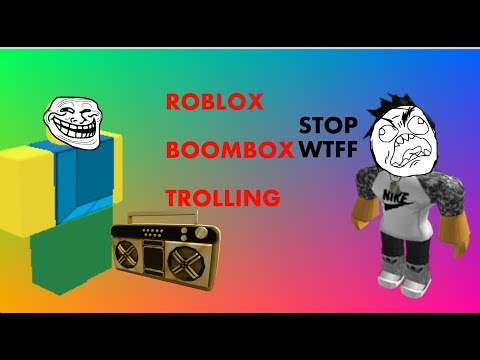 Roblox Boombox Trolling 1 The Loudest Violin Youtube
