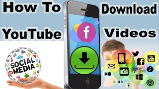 How to Download Youtube Videos | Social Media Videos ( PC,  Android ,  iPhone )