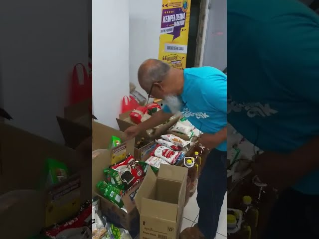 AL-I'TISAM FOODBANK : Food Donation Drive Live at Hypermarket ( 28 SEPTEMBER 2019)