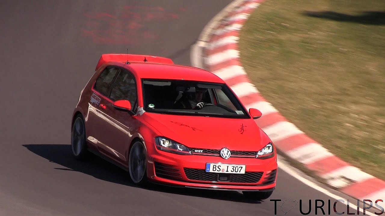2015 volkswagen golf gti club sport spied testing on the n rburgring youtube. Black Bedroom Furniture Sets. Home Design Ideas