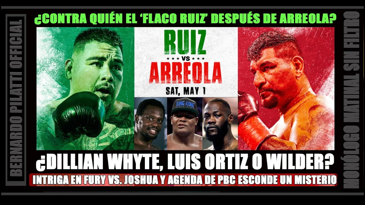 Andy Ruiz Jr. vs Chris Arreola: Resultados y anlisis en vivo